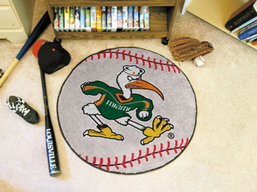 "Miami Baseball Mat 27"" diameter"