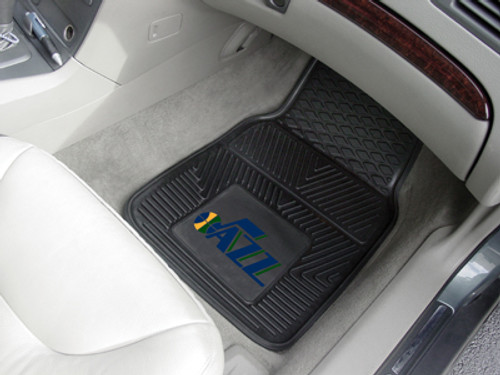 "NBA - Utah Jazz 2-pc Vinyl Car Mats 17""x27"""