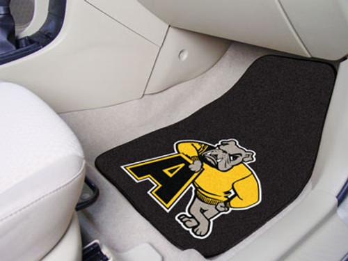 """Adrian 2-pc Carpeted Car Mats 17""""x27"""""""