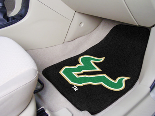 "South Florida 2-pc Carpeted Car Mats 17""x27"""