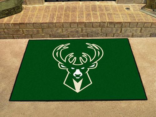 """NBA - Milwaukee Bucks All-Star Mat 33.75""""x42.5"""""""