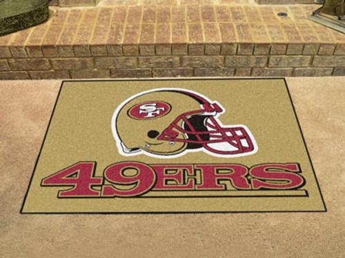 "NFL - San Francisco 49ers All-Star Mat 33.75""x42.5"""