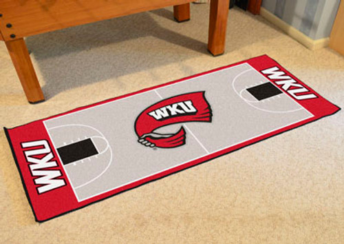 """Western Kentucky Basketball Court Runner 30""""x72"""""""