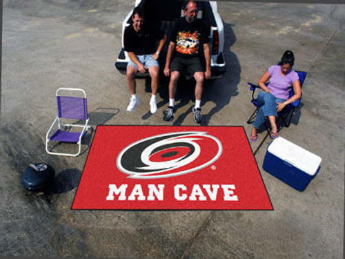 NHL - Carolina Hurricanes Man Cave UltiMat 5'x8' Rug