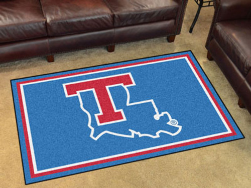 Louisiana Tech 4'x6' Rug