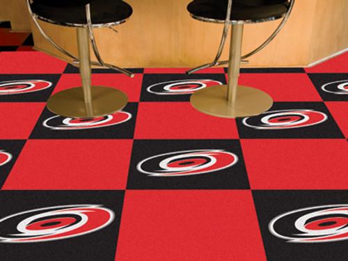 "NHL - Carolina Hurricanes 18""x18"" Carpet Tiles"