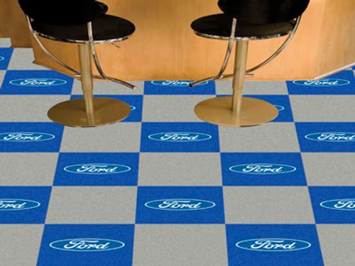 """Ford - Boss 302 Carpet Tiles 18""""x18"""" tiles"""