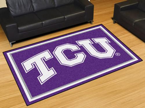 TCU 5'x8' Rug