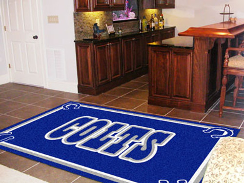 NFL - Indianapolis Colts 5'x8' Rug