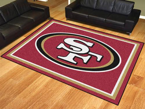 NFL - San Francisco 49ers 8'x10' Rug