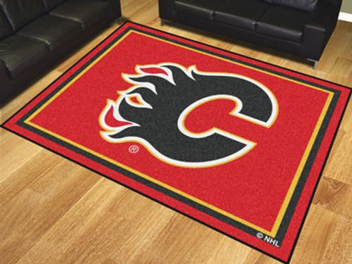NHL - Calgary Flames 8'x10' Rug