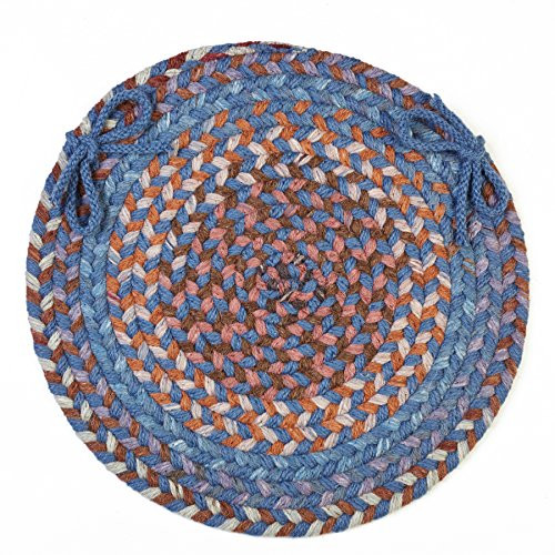 Ashley Chair Pad, Blue Dragon