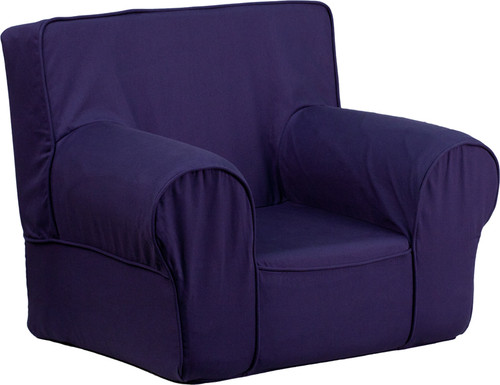 Blue Fabric kids' chair DG-CH-KID-SOLID-BL-GG