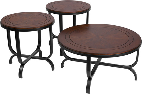 cocktail table set FSD-TS3-65DB-GG