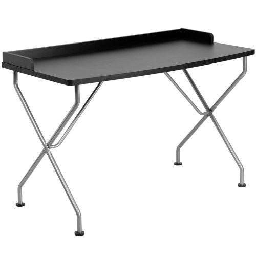 Black computer desk NAN-JN-2116-BK-GG