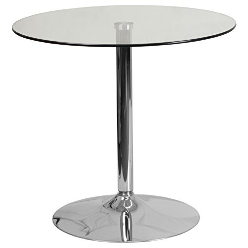 """31.5"""" Round Glass Table CH-7-GG"""