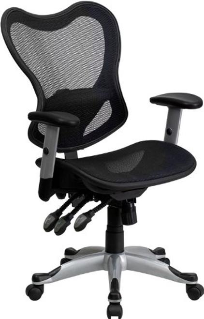 Black mesh chair GO-WY-55-GG