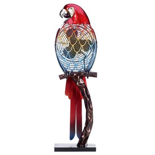 Deco Breeze DBF0338 Figurine Fan- Parrot - Color