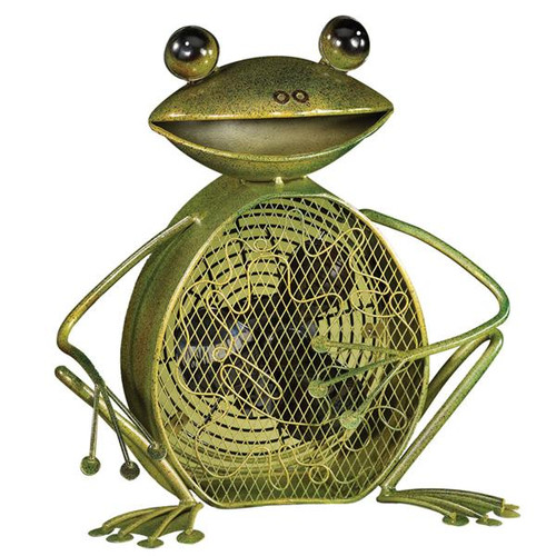 Deco Breeze DBF0361 Figurine Fan - Frog