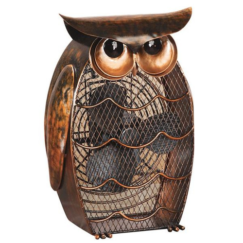 Deco Breeze DBF0365 Figurine Fan - Owl