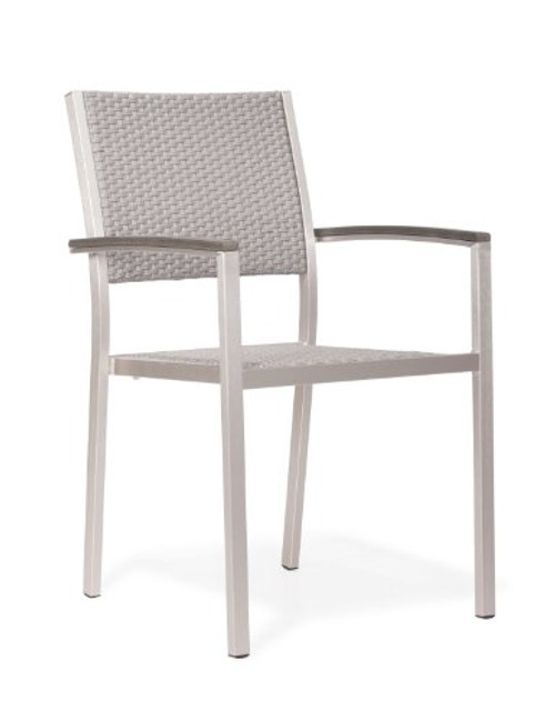 Zuo Modern 701865 Metropolitan Arm Chair Set of 2