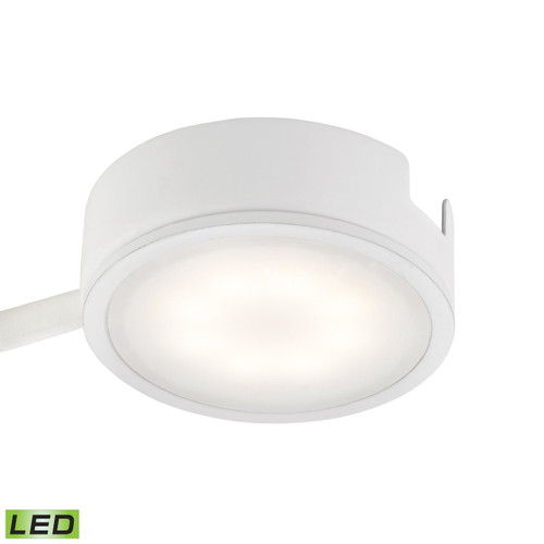 Alico MLE301-5-30 Tuxedo 1 Light LED Undercabinet Light In White With Power Cord And Plug