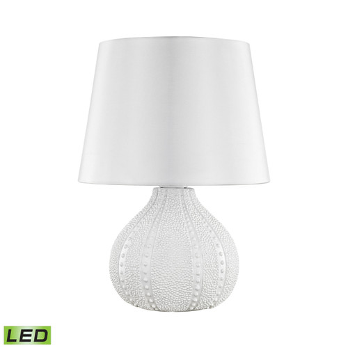 Dimond Lighting D3094W-LED Aruba Outdoor LED Table Lamp With Pure White Shade