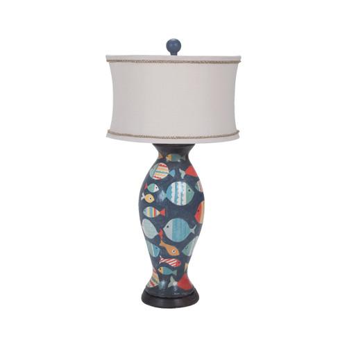 Guildmaster 355023 Terra Cotta Lamp IV
