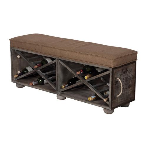 Guildmaster 652507 Lg Wine Crate Ottoman