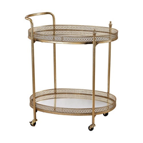Sterling Industries 3200-032 Banded Oval Bar Cart