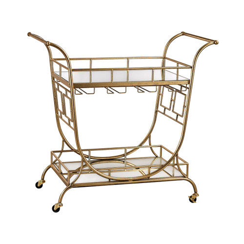 Sterling Industries 3200-038 Mirrored Server Bar Cart