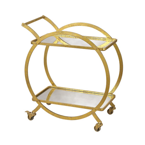 Sterling Industries 351-10212 Ring Bar Cart