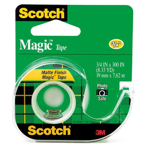3m Company MMM105 Tape Magic Trans 3 / 4 X 300