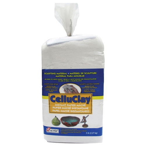 Activa Products API205 Celluclay Bright White 5 Lb Package