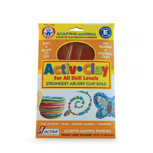 Activa Products API161 Activ-clay Terra Cotta 1 Lb.