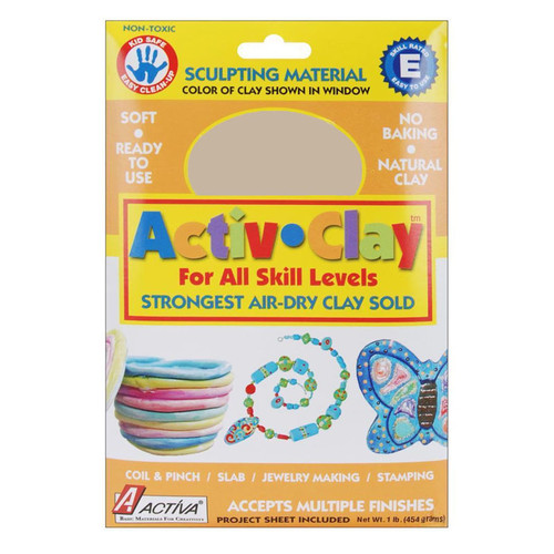 Activa Products API160 Activ-clay White 1 Lb.