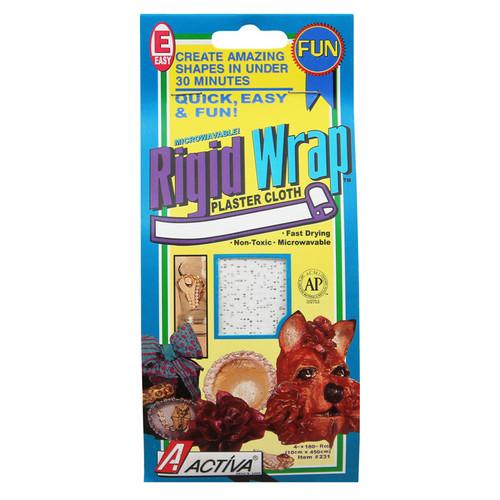 Activa Products API231 Rigid Wrap 4 Inch Plaster Tape