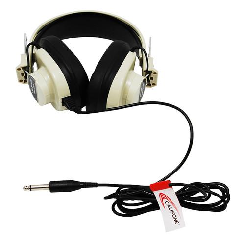 Califone International CAF2924AV Monaural Headphone 5 Straight Cord 50-12000 Hz