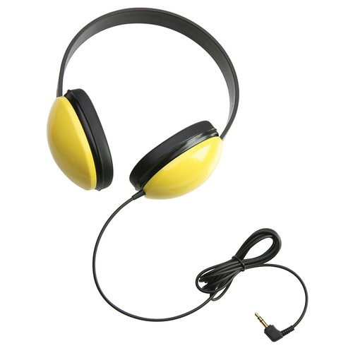 Califone International CAF2800YL Listening First Stereo Headphones Yellow