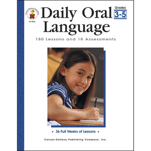 Carson Dellosa CD-0043 Daily Oral Language Gr 3-5