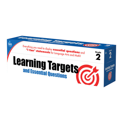 Carson Dellosa CD-158059 Gr 2 Learning Targets & Essential Questions