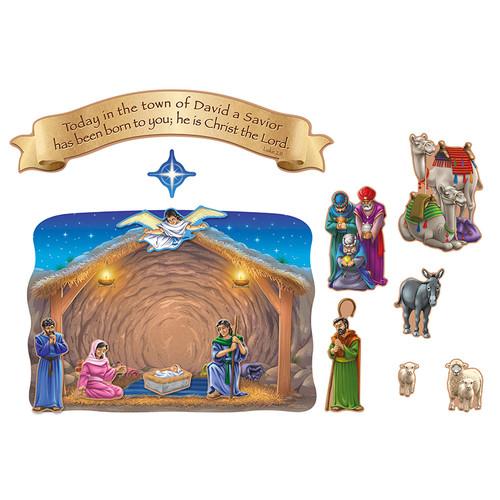 Carson Dellosa CD-210006 Nativity And The Magis Visit
