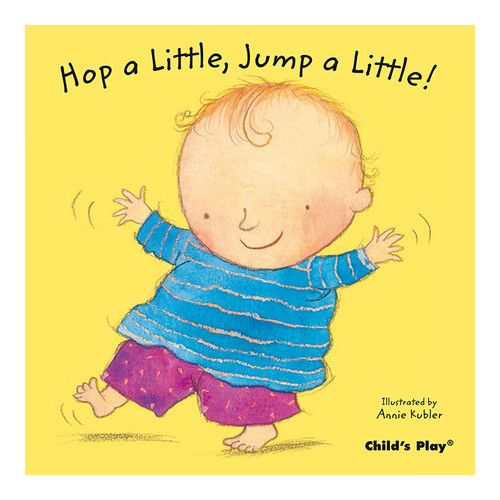 Childs Play Books CPY9781846433412 Hop A Little Jump A Little Baby Board Book