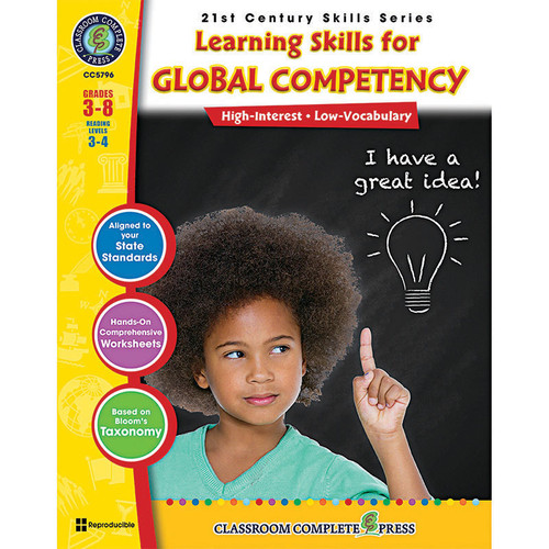 Classroom Complete Press CCP5796 Learning Skill Global Competancy Bk 21st Century Skills