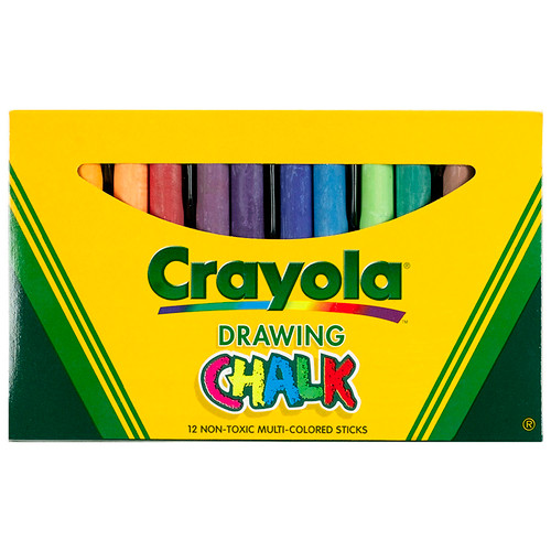 Crayola Llc BIN403 Crayola Colored Drawing Chalk Asst