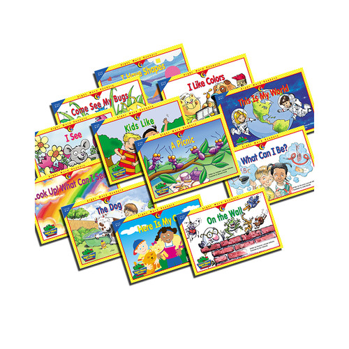 Creative Teaching Press CTP3184 Sight Word Readers K-1 12 Books Variety Pk 1each 3160-3171
