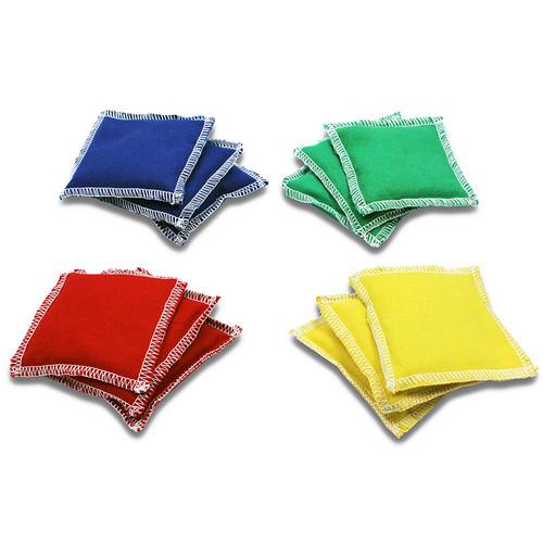 Dick Martin Sports MASBB44 Bean Bags 4 X 4 12-pk Nylon Cover Plastic Bead Filling