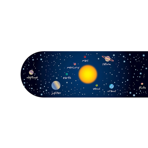 Dowling Magnets DO-738425 Solar System Bookmark