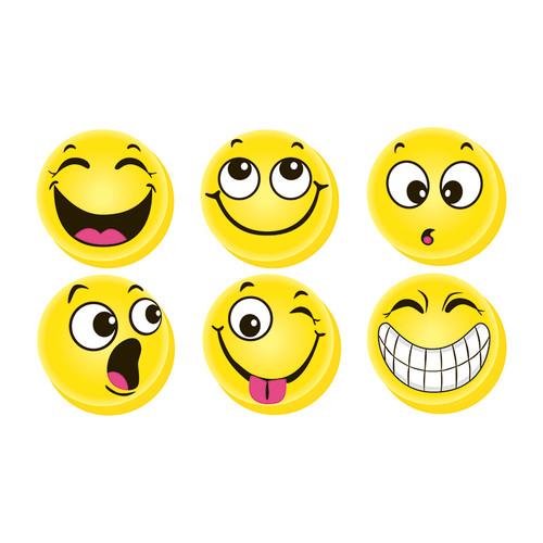 Dowling Magnets DO-735020 Hero Magnets Emoji 3 / Pk Big Button Magnets