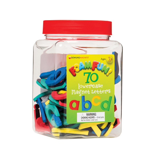 Dowling Magnets DO-733101 Foamfun Magnets Lowercase Letters